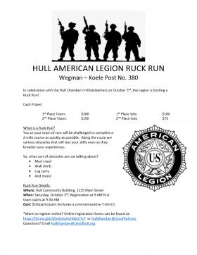 Hull American Legion Run Run