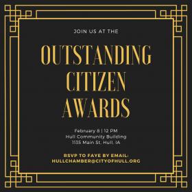 Outstand Citizen Award Lunch