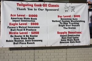 Cook off sponsors