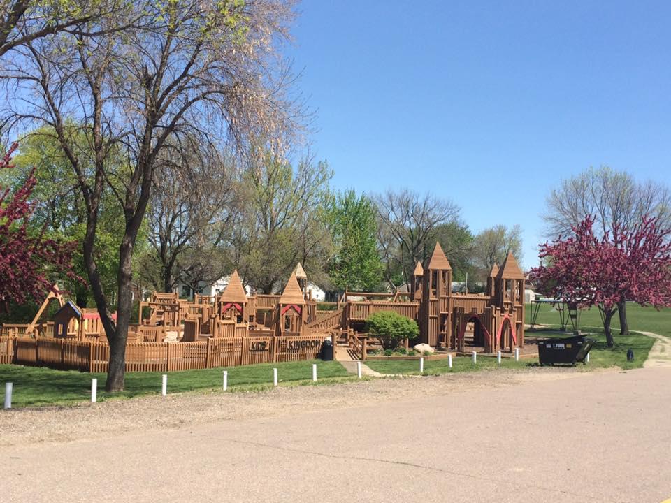 Kids Kingdom Playground at Westside Park